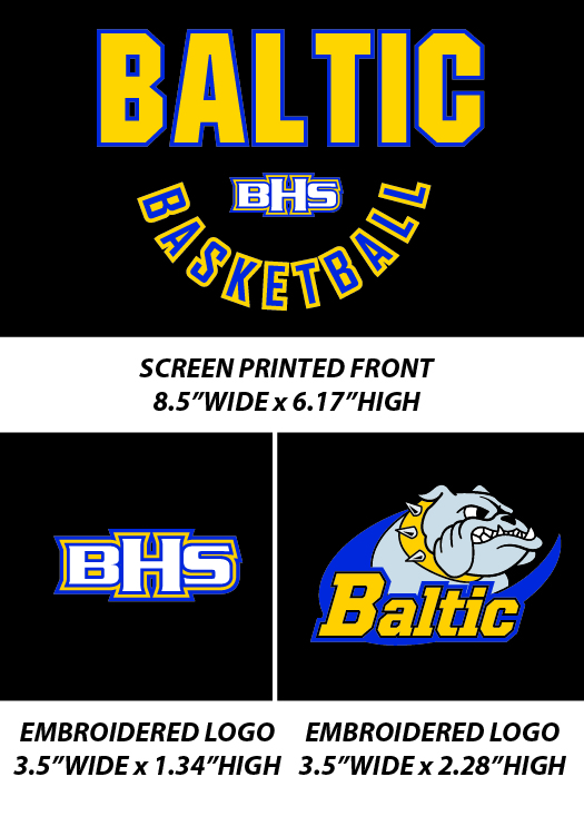 Baltic Basketball Fall 2017 - WEBSTORE CLOSED
