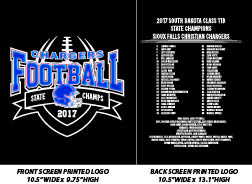 Sioux Falls Christian Football State Champions 2017 - WEBSTORE CLOSED