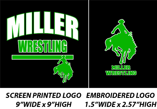Miller Wrestling Winter 2017 - WEBSTORE CLOSED