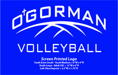 O'Gorman Volleyball - WEBSTORE CLOSED