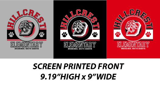 Hillcrest Elementary Fall 2016 - WEBSTORE CLOSED