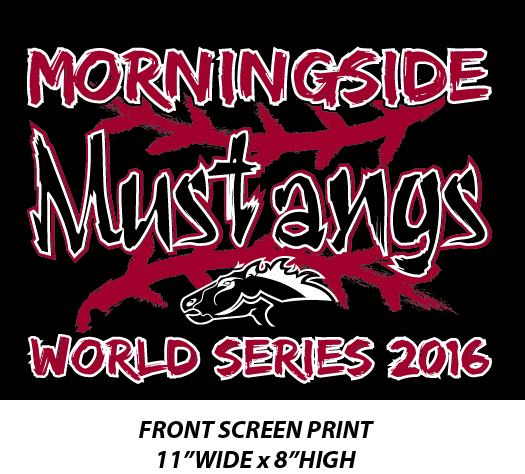 Morningside Softball World Series 2016 - WEBSTORE CLOSED