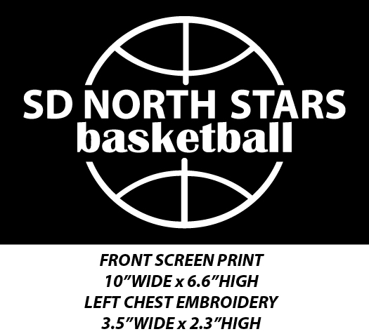 SD North Stars Basketball - WEBSTORE CLOSED
