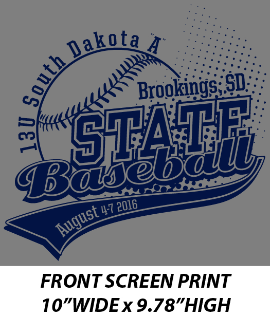 13U State A Baseball Tournament - WEBSTORE CLOSED