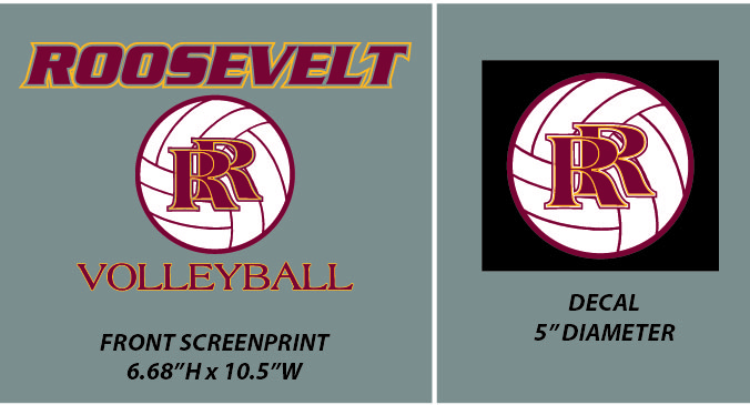 Roosevelt Volleyball - WEBSTORE CLOSED
