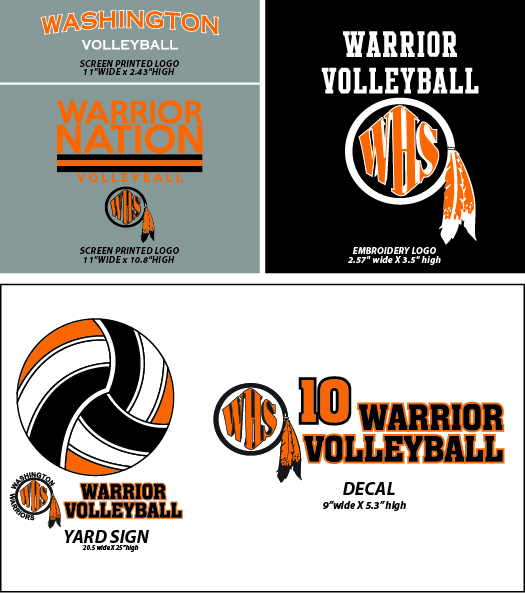 Sioux Falls Washington Volleyball Fangear - WEBSTORE CLOSED