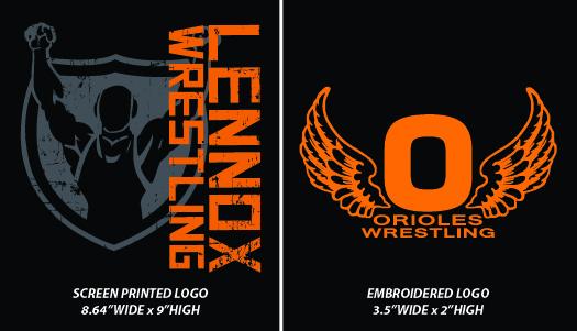 Lennox Wrestling 2016 - WEBSTORE CLOSED
