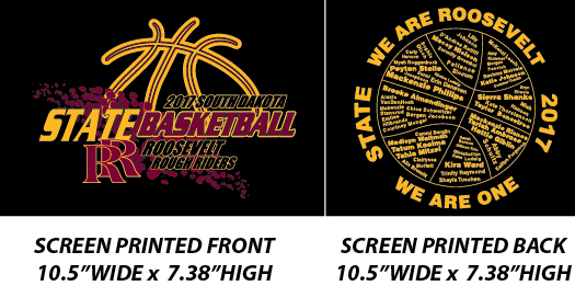 Roosevelt State Basketball 2017 - WEBSTORE CLOSED