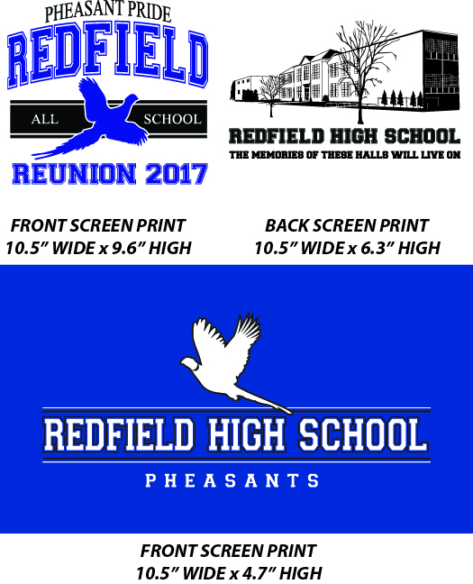 Redfield All School Reunion - WEBSTORE CLOSED