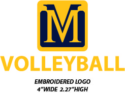Mount Marty College Volleyball Player - WEBSTORE CLOSED