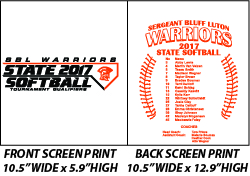 Sergeant Bluff-Luton State Softball - WEBSTORE CLOSED