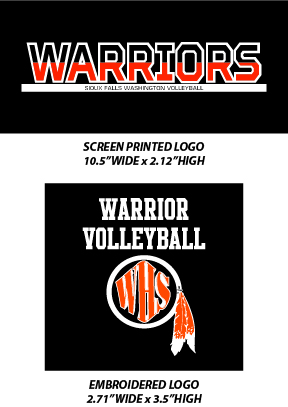 Sioux Falls Washington Volleyball 2017 - WEBSTORE CLOSED