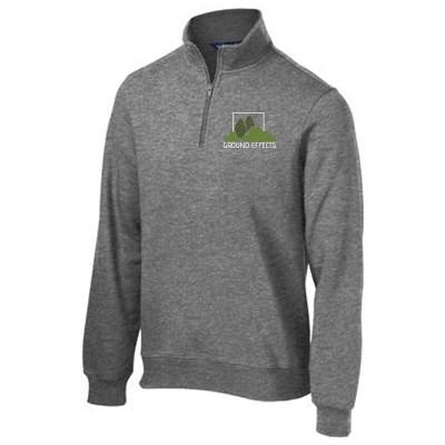 Ground Effects Employees 07 SportTek ¼ Zip Sweatshirt