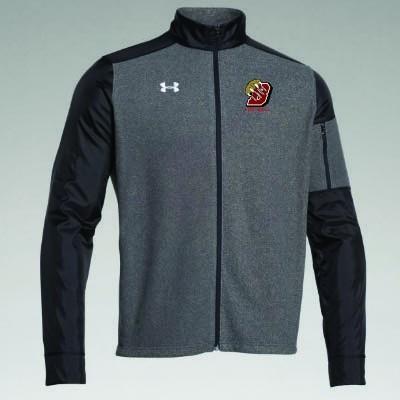 Brookings Football 2016 11 Mens and Ladies Under Armour Fleece Full Zip