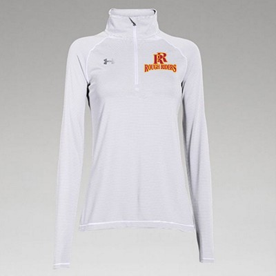 Roosevelt Booster 2016 10 UA Ladies Striped ¼ Zip