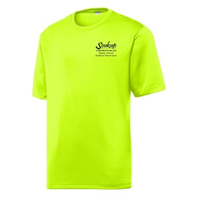 Soukup Construction 13 Moisture Wicking Tee