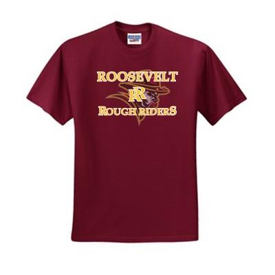 Roosevelt Booster 2016 01 50/50 Blend Tee