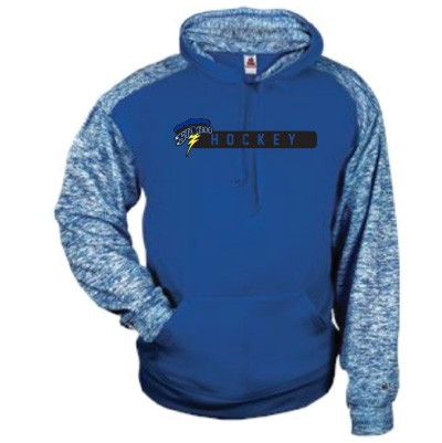 Sioux Center Youth Hockey 2017 02 Youth and Adult Badger Sport Blend Hood