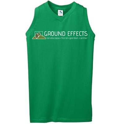 Ground Effects Employee 2017 04 Augusta Ladies Sleeveless Shirt