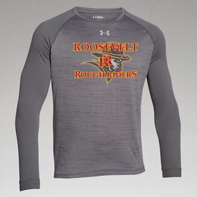 Roosevelt Booster 2016 05 UA Men's Heather Long Sleeve