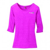 Avera Physical Therapy Brookings 12 Ladies District Triblend Lace ¾ Sleeve Shirt