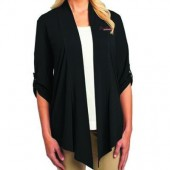 Brookings School 2016 09 Ladies Port Authority Open Front Cardigan