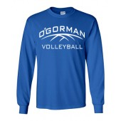 O'Gorman Volleyball 03 Gildan LS Tee