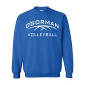 O'Gorman Volleyball 06 Gildan Youth Crewneck Sweatshirt