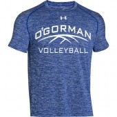 O'Gorman Volleyball 07 UA Mens Twisted Tech Locker Tee