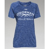 O'Gorman Volleyball 08 UA Womens Twisted Tech Locker Tee