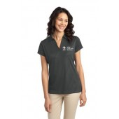 ADM 24 Ladies Tech Embossed Polo