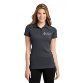 ADM 25 Ladies Fine Stripe Polo