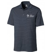 ADM 26 Mens Cutter and Buck Drytec Stripe Polo