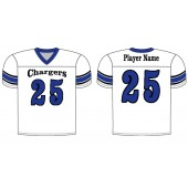 SFC Football 09 Alleson Fanwear Football Sublimated Game Jersey