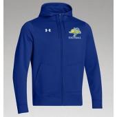 SDSU Football 11 UA Mens Storm Full Zip Hoodie
