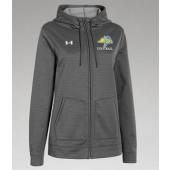 SDSU Football 12 UA Ladies Storm Full Zip Hoodie