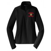 Bobcat Softball 10 Sport Tek Ladies ¼ Zip Pullover