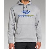 Aberdeen Central Football 2016 14 UA Poly Fleece Hooded Sweatshirt