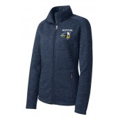 Augustana Football 10 Ladies Digit Stripe Jacket