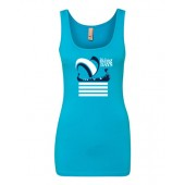 Augie Viking Days 02 Next Level Ladies Softstyle Jersey Tank