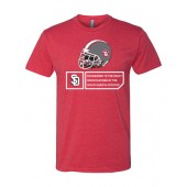USD Football 01 Next Level Softstyle Tee