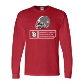 USD Football 03 Gildan 50/50 Longsleeve
