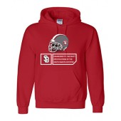 USD Football 04 Gildan Cotton Hoody