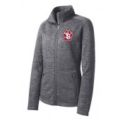 USD Football 09 Ladies Digi Stripe Fleece Jacket