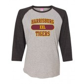 Harrisburg 03 Ladies ¾ sleeve Tshirt