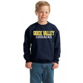 Sioux Valley PTO 07 Youth Gildan Crewneck Sweatshirt