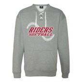 RHS Softball 03 J. America Hockey Crew Sweatshirt