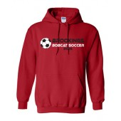 Bobcat Soccer 2016 07 Gildan 50/50 Hooded Sweatshirt