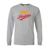 Avon Athletic Boosters 10 Gildan LS Tee