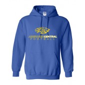 Aberdeen Central Football 2016 09 GIldan Adult Hooded Sweatshirt